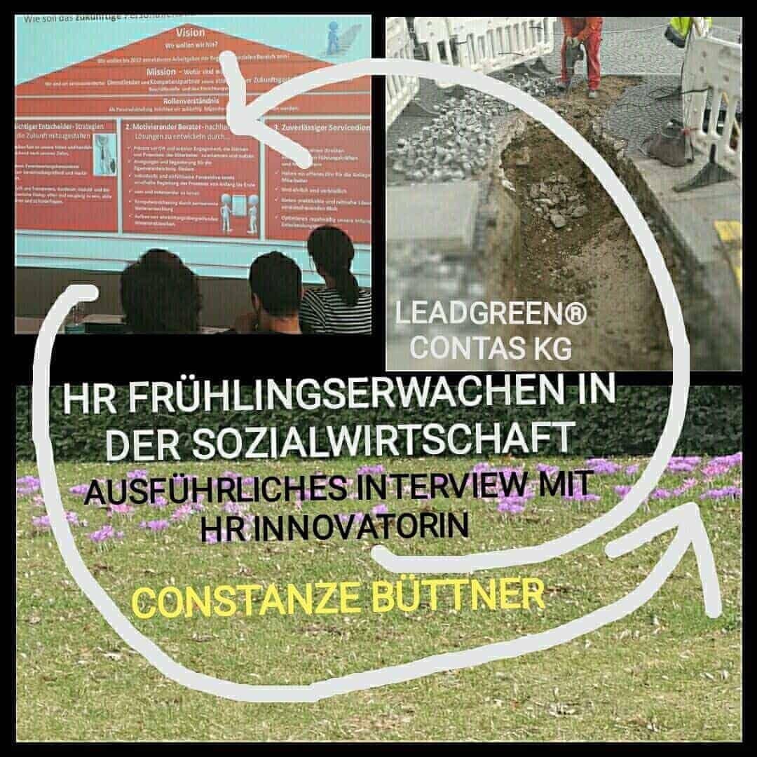 Frühlingserwachen in der Sozialwirtschaft | Ausführliches Interview mit HR Innovatorin Constanze Büttner